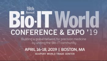 Scilligence at Bio-IT – April 16-18, 2019