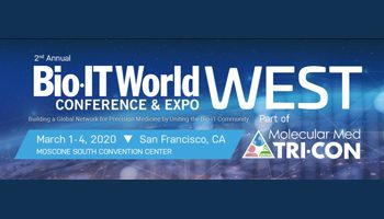 Bio-IT West/Molecular Med Tri-Con – March 1-4, 2020